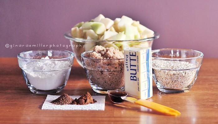 apple crisp | more tasty fall