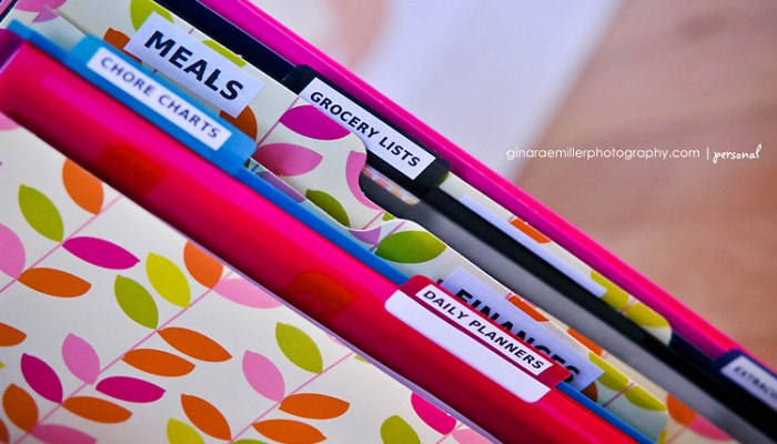home organization binder | DIY printables