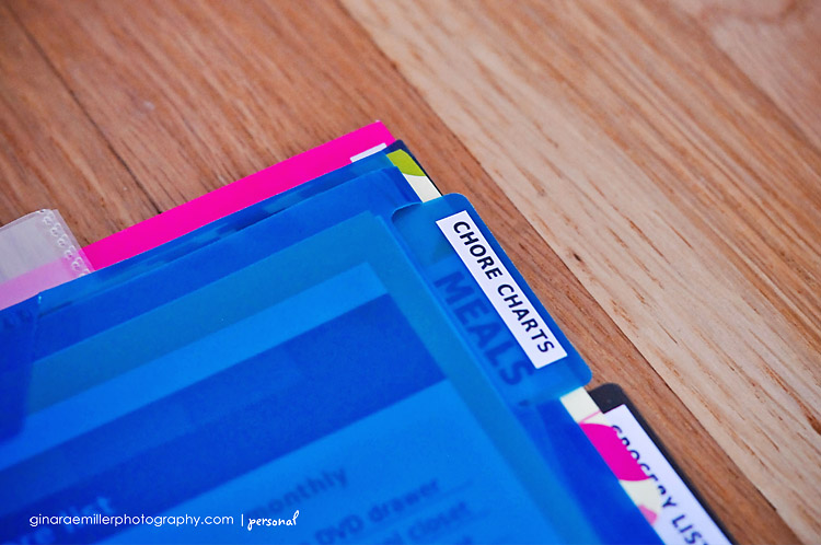 binder8 home organization binder | DIY printables