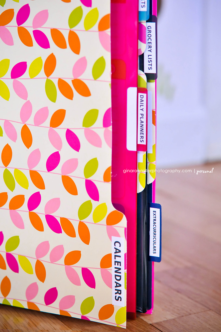 binder9 home organization binder | DIY printables