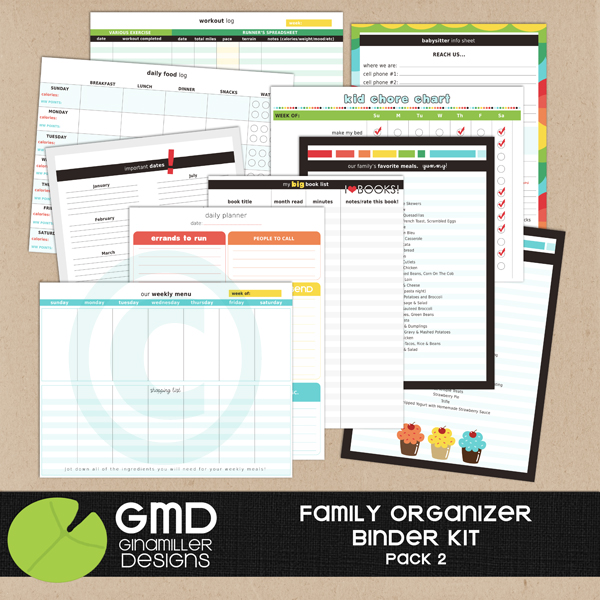Free Printables For Home Organization Binder