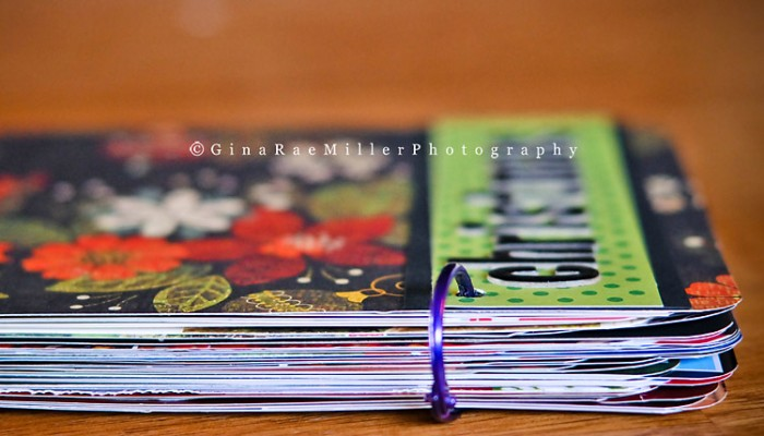 mini scrapbook | pinterest project