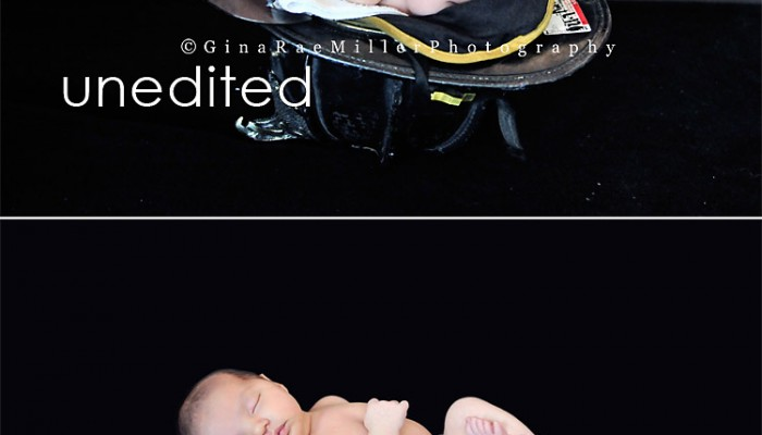 FDNY baby sneak peek | long island newborn photographer