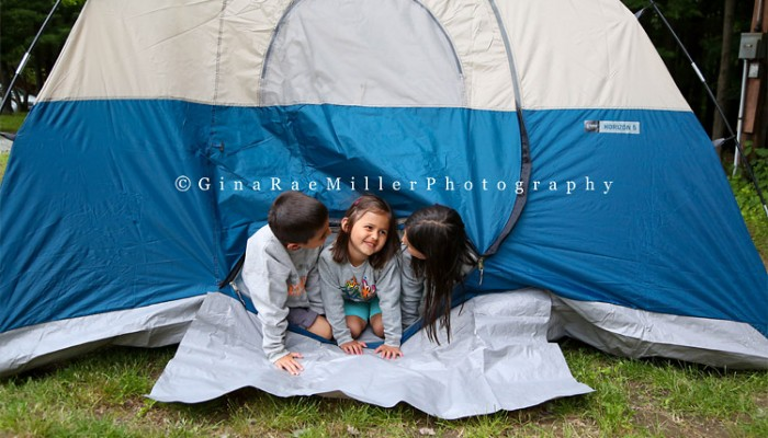 the millers go camping | vacation photos