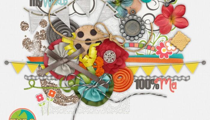 august byoc | digital scrapbooking
