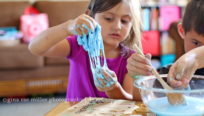 homemade slime | crafting with kids