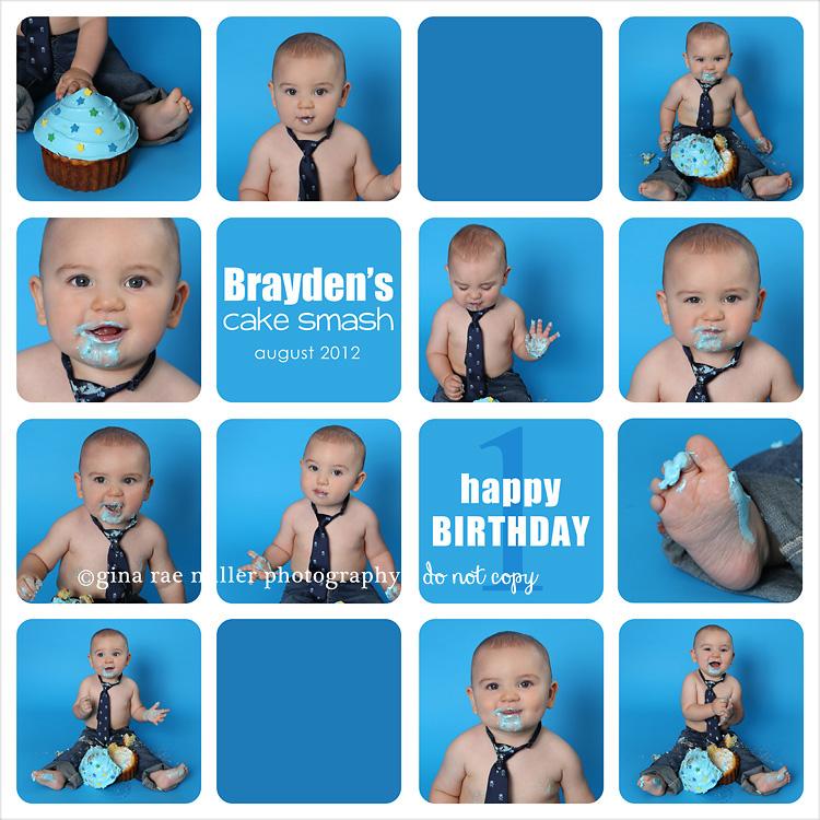Gina Rae Miller Photography Long Island NY Child Photographer Cake Smash Birthday