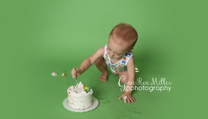 aiden | long island cake smash photographer
