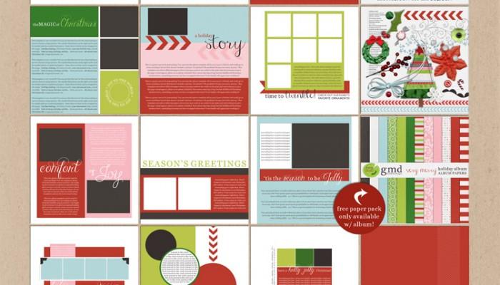 december daily | digital scrapbooking