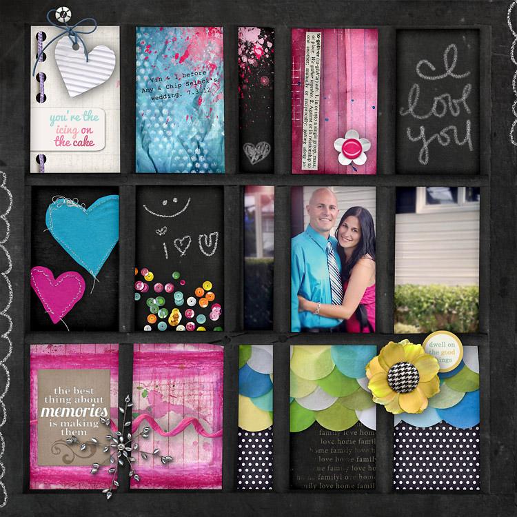 Gina Miller Designs Digital Scrapbooking