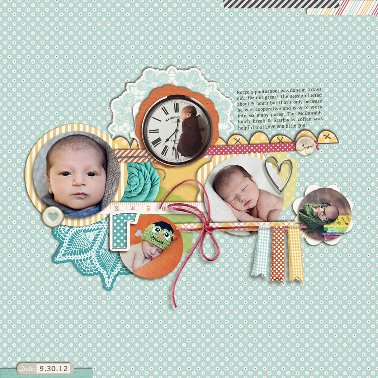 RoccosPhotoshootWEB layouts to finish up my 2012 scrapbook
