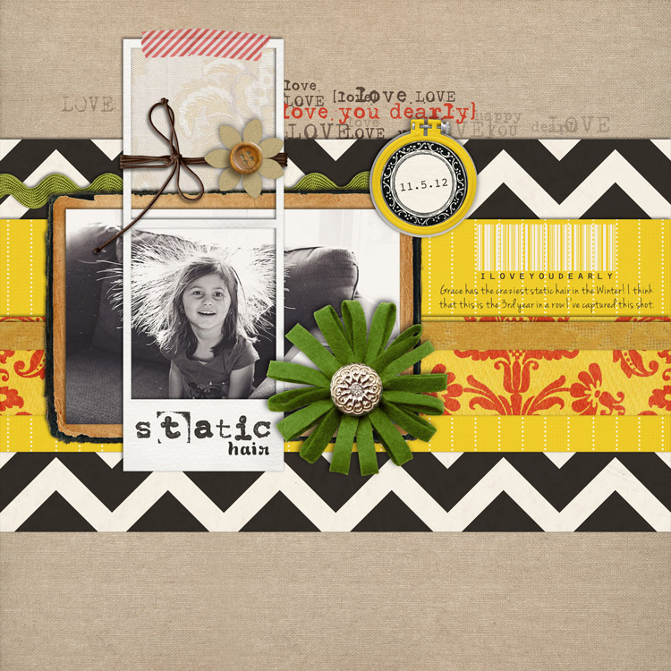 StaticHairWEB layouts to finish up my 2012 scrapbook