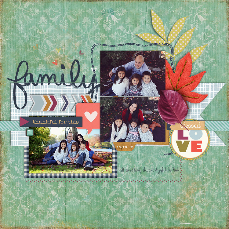 ThankfulForThisWEB layouts to finish up my 2012 scrapbook