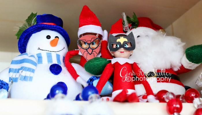 buddy & ginny, take two | elf on the shelf