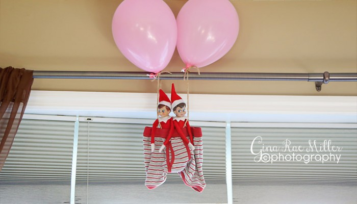 buddy & ginny, take three | elf on the shelf