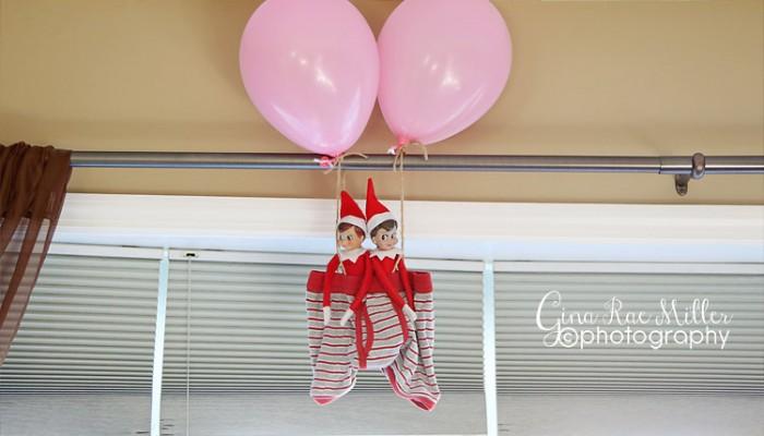 buddy & ginny, take three | elf on the shelf