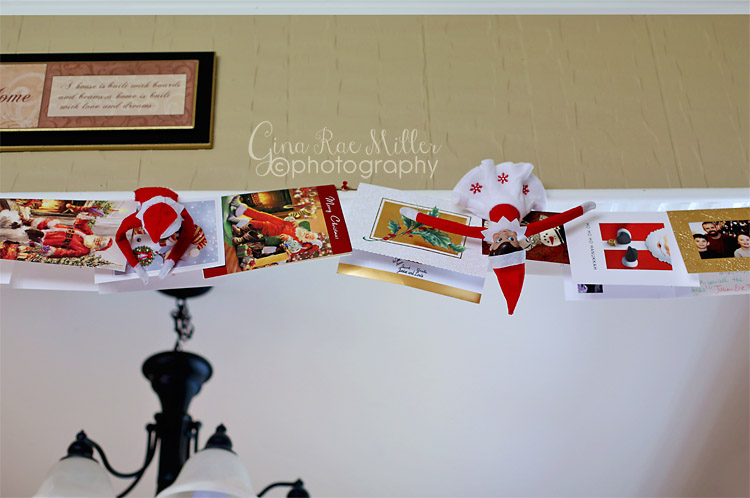 Gina Rae Miller Photography Elf on the Shelf Christmas