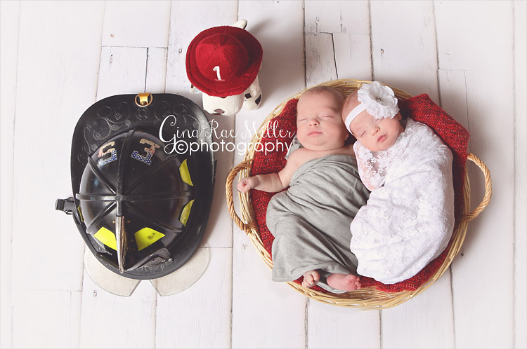 Gina Rae Miller Photography Long Island NY Newborn Twin Photographer