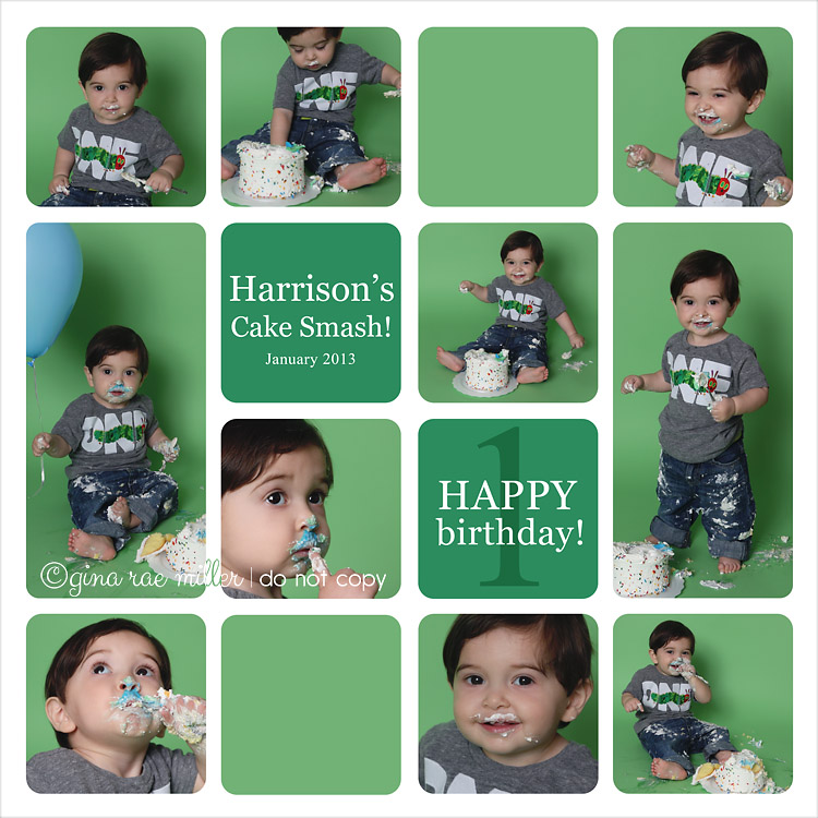 Harry1 a cake smash at a glance | long island birthday photographer