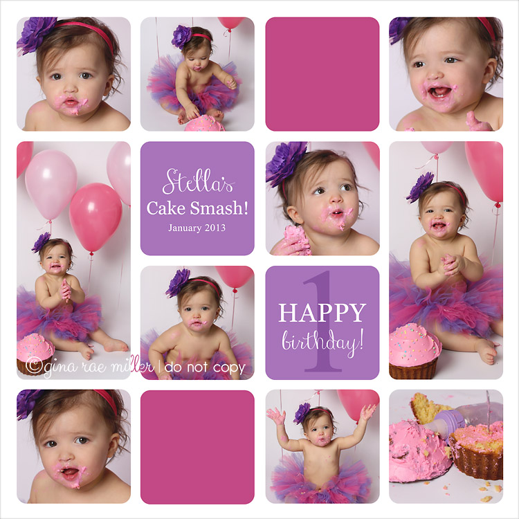 Stella1 a cake smash at a glance | long island birthday photographer