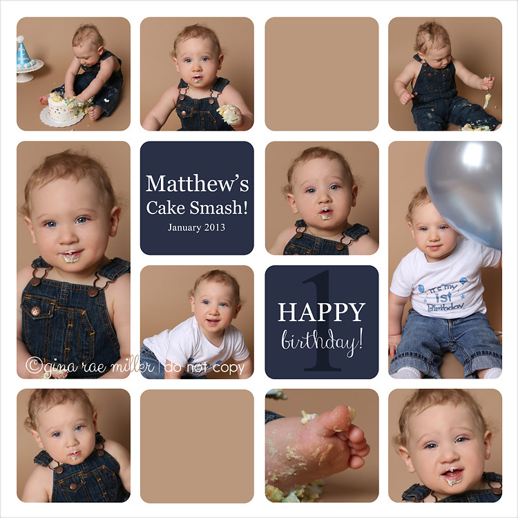 Matthew1 a cake smash at a glance | long island birthday photographer