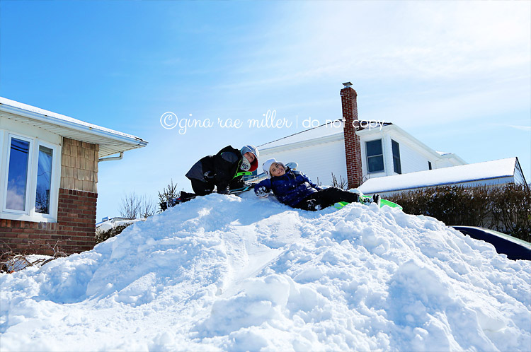 Gina Rae Miller Photography Long Island Nemo Blizzard 2013