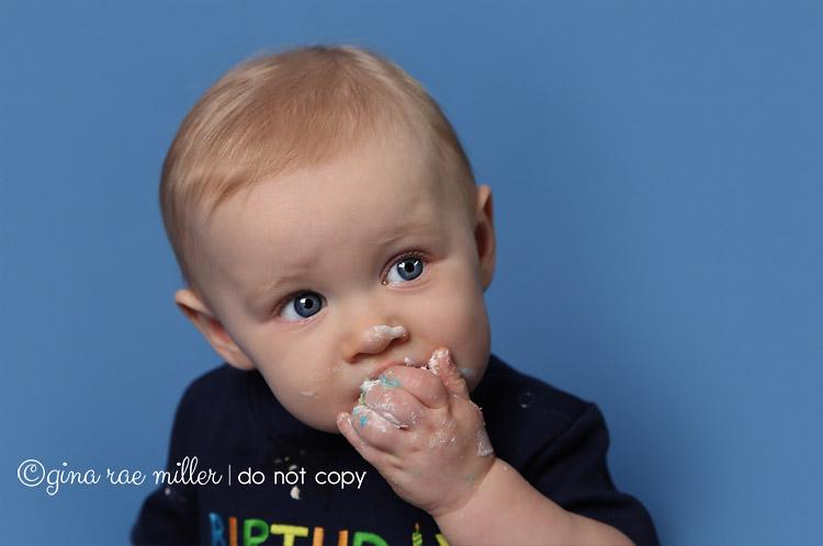 Gina Rae Miller Photography Long Island NY Cake Smash Birthday Photographer