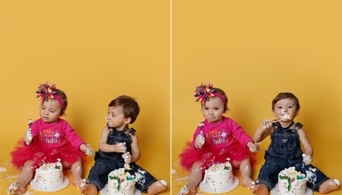 cake peek | long island cake smash photographer