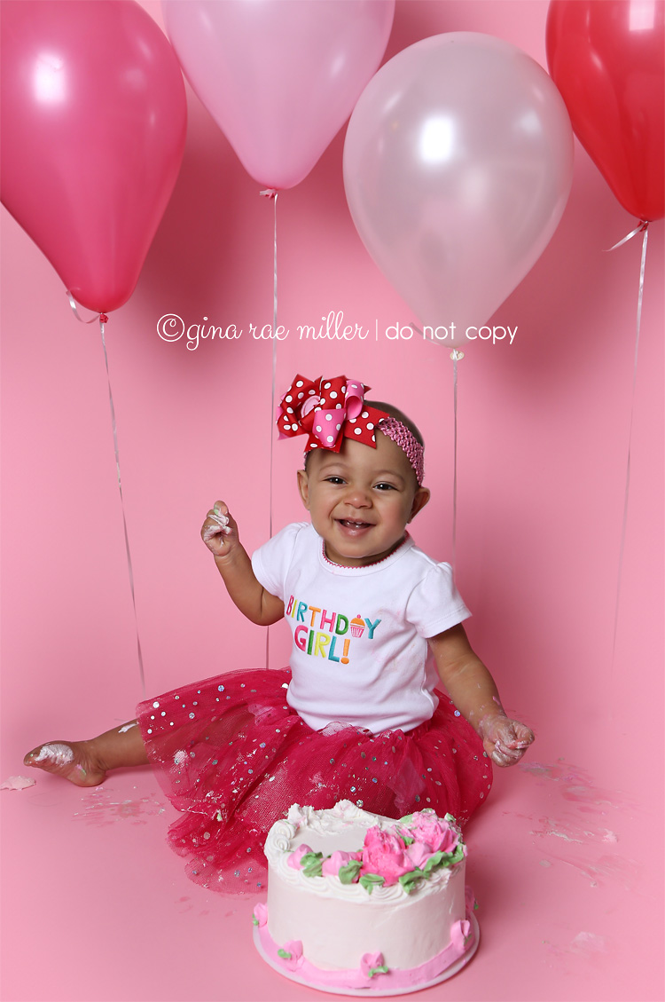 Gina Rae Miller Photography Long Island NY Cake Smash Birthday Photographer