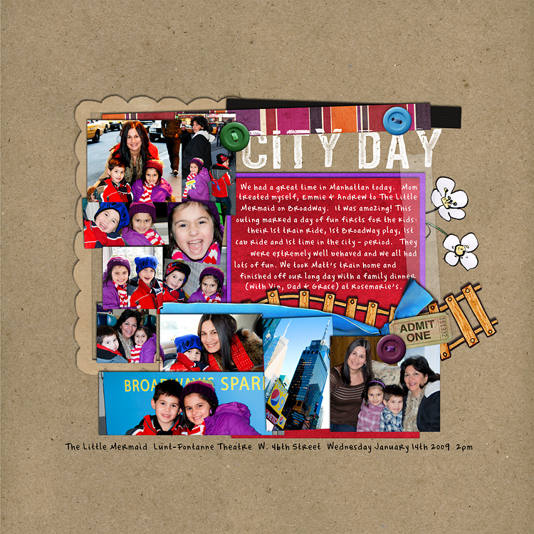 l11 layouts, old school style | digital scrapbooking