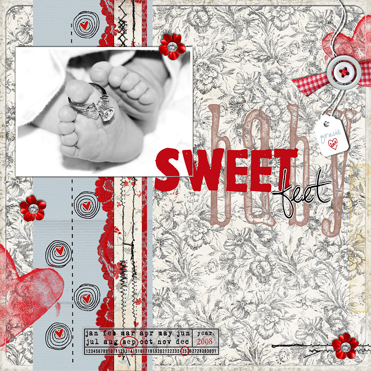 l3 layouts, old school style | digital scrapbooking