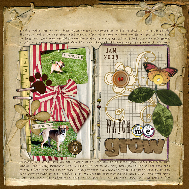 lay12 layouts, old school style | digital scrapbooking