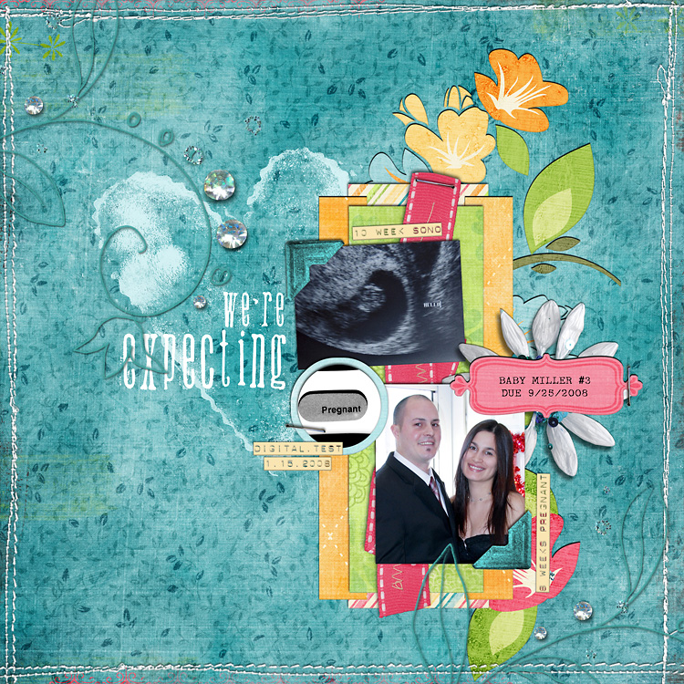 lay13 layouts, old school style | digital scrapbooking