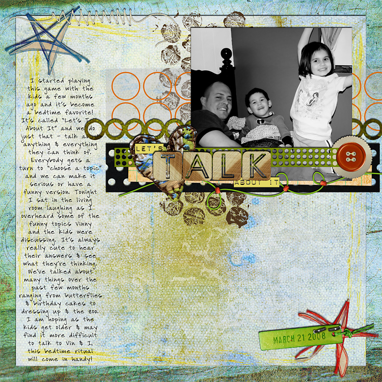 lay17 layouts, old school style | digital scrapbooking
