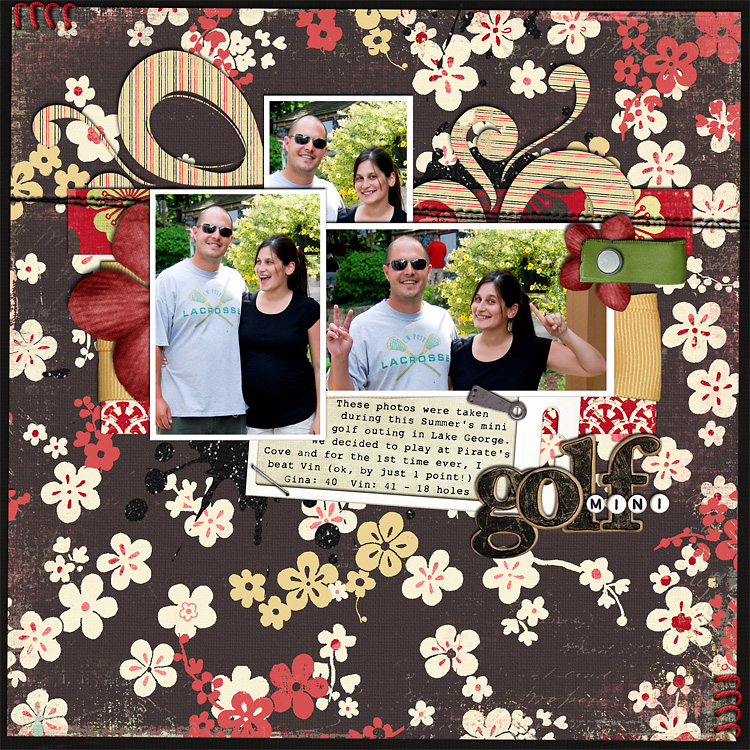 lay2 layouts, old school style | digital scrapbooking