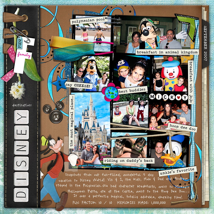 lay21 layouts, old school style | digital scrapbooking