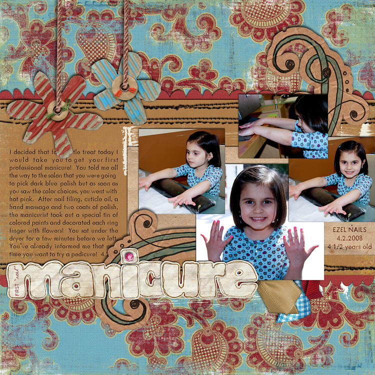 lay4 layouts, old school style | digital scrapbooking