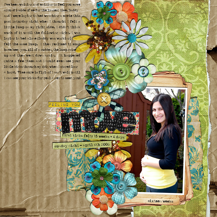 lay6 layouts, old school style | digital scrapbooking