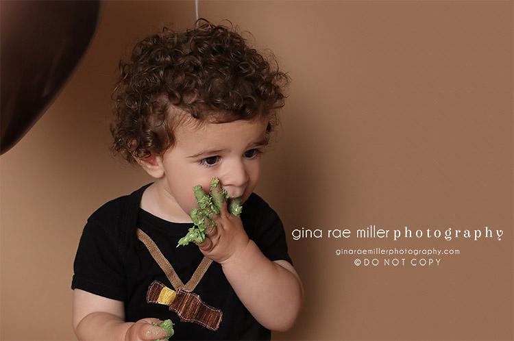 Gina Rae Miller Photography Long Island New York Childrens Cake Smash Photographer