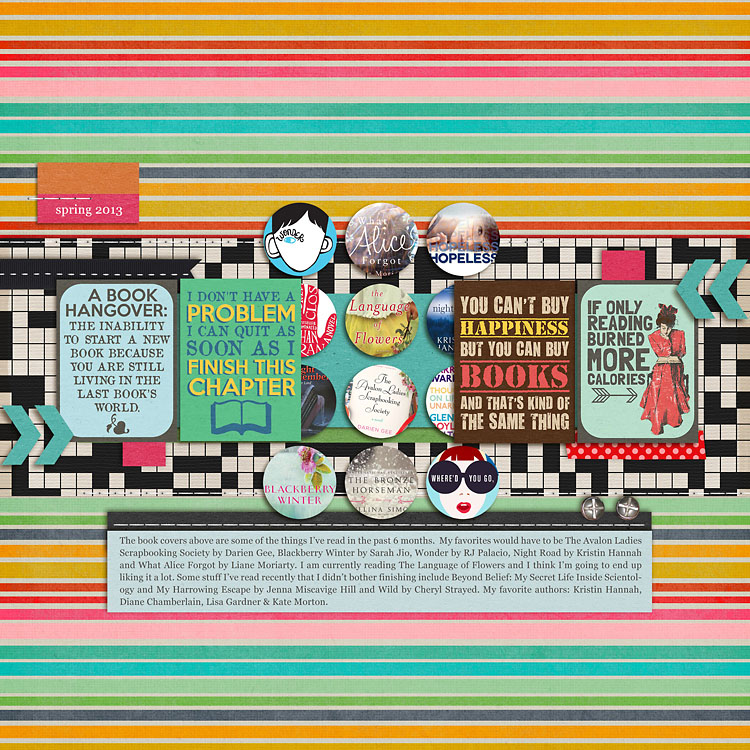 Gina Miller Designs Digital Scrapbooking