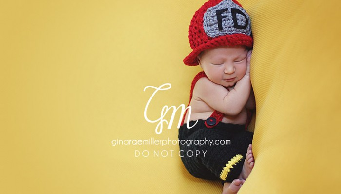 fdny baby | long island newborn photographer