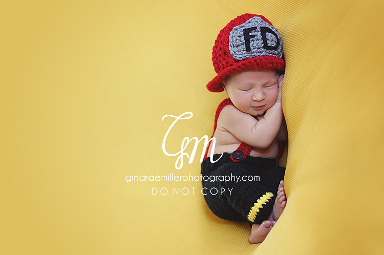Gina Rae Miller Photography Long Island NY Newborn Photographer FDNY