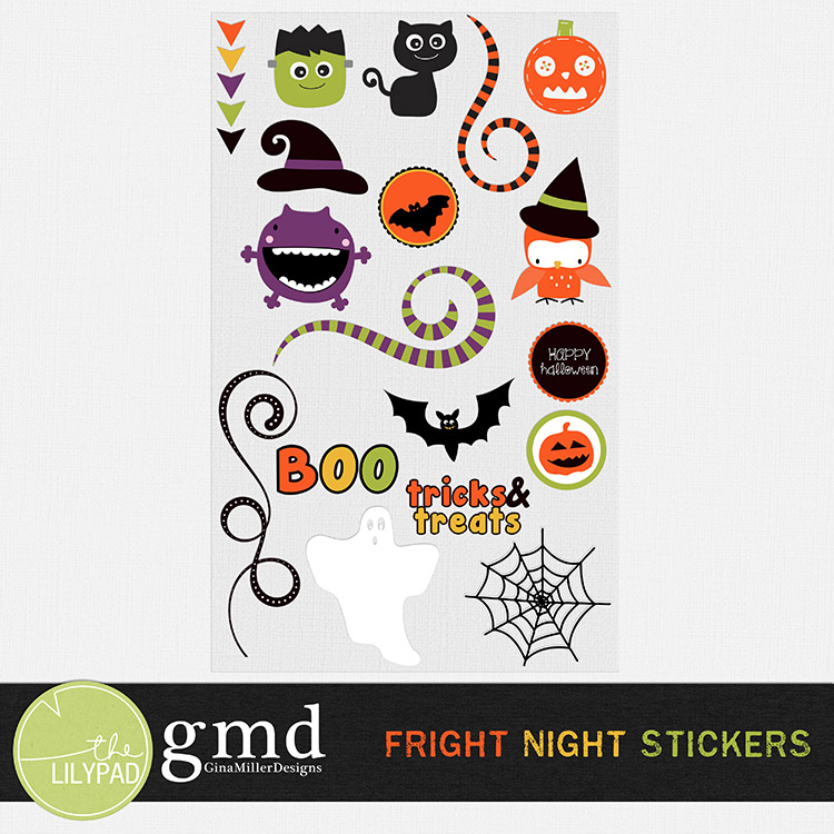 FrightNight750 DSD weekend! | digital scrapbooking
