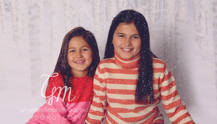 """sisters in the """"snow"""" 