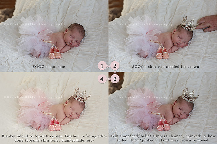 BeforeAfter lucy jo | long island newborn photographer