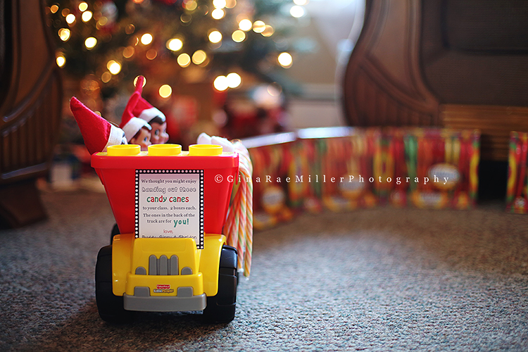 Gina Rae Miller Photography Elf on the Shelf