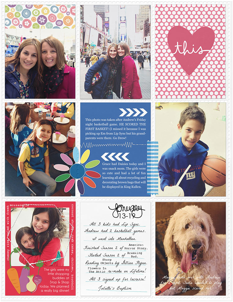 Gina Miller Designs Project Life Digital Scrapbooking