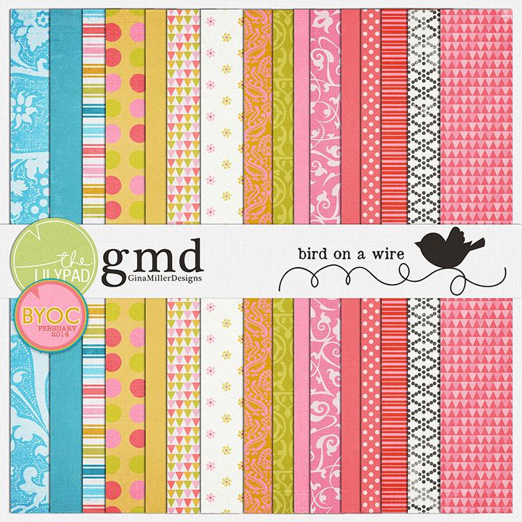 Gina Miller Designs Digital Scrapbooking GMD
