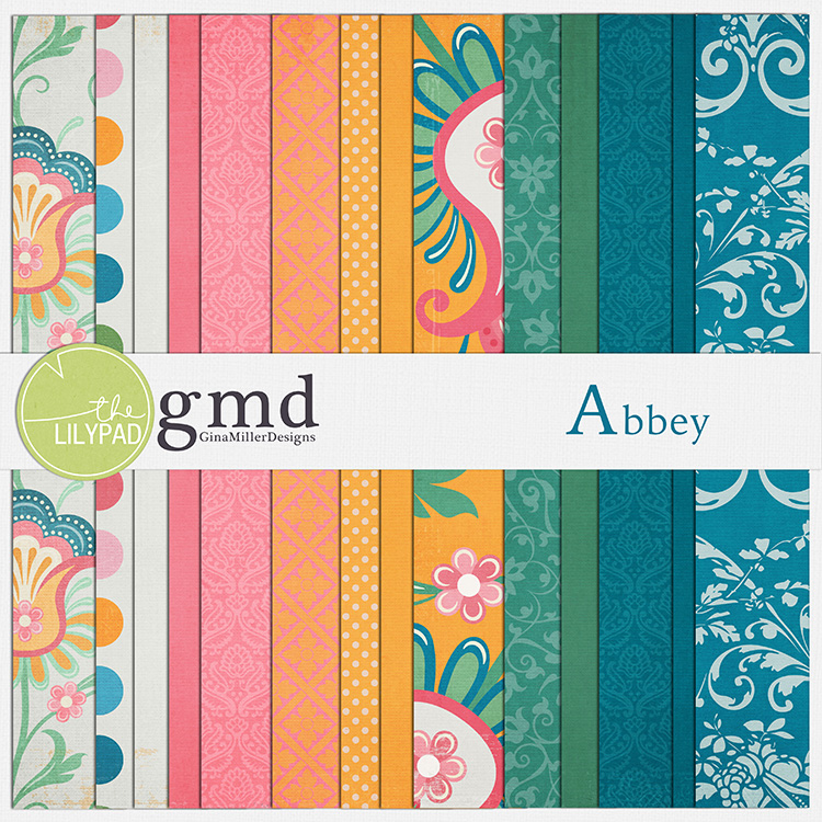Abbey750 pretty papers | digital scrapbooking