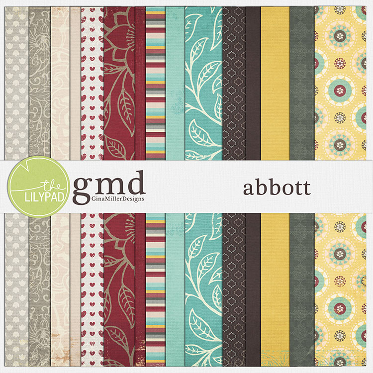 Abbott750 pretty papers | digital scrapbooking